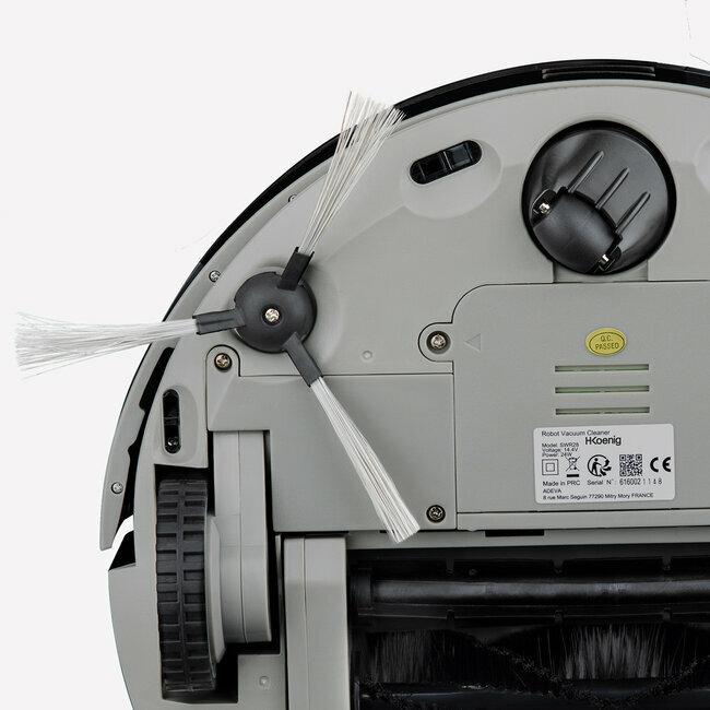 h koenig swr28 aspirateur robot noir. Black Bedroom Furniture Sets. Home Design Ideas