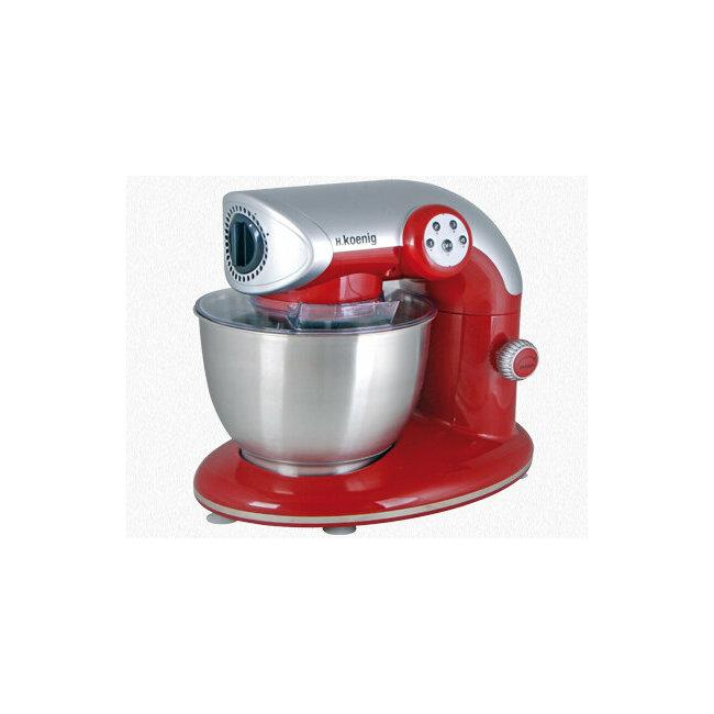 Nos produits robot de cuisine robot petrin multifonctions km80s rouge koenig fr - Robot de cuisine petrin ...