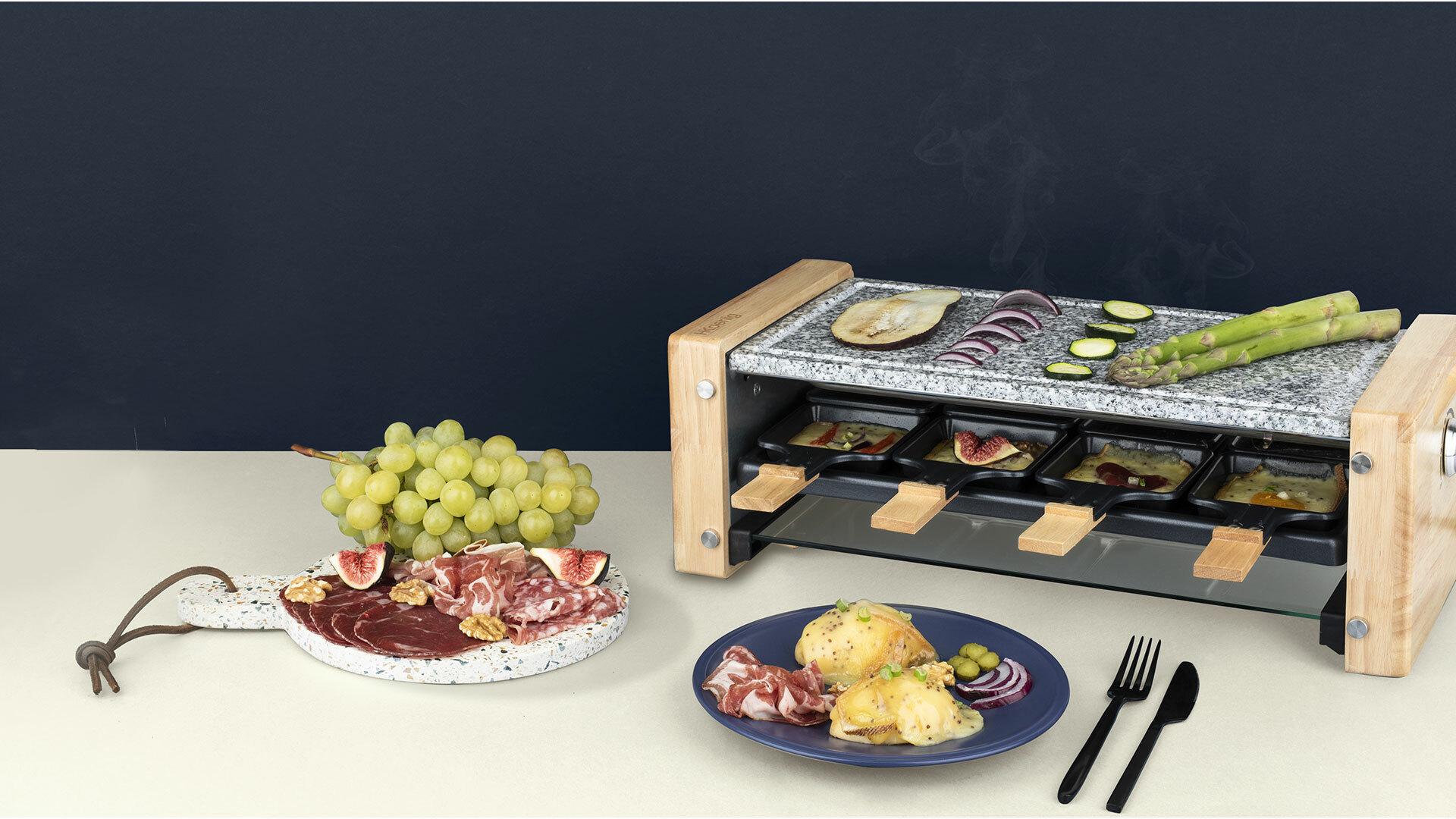 Nos produits cuisson conviviale appareil a raclette for Appareil cuisine conviviale