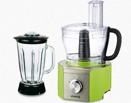 nos produits robot de cuisine robot multifonctions mx18 vert koenig fr. Black Bedroom Furniture Sets. Home Design Ideas