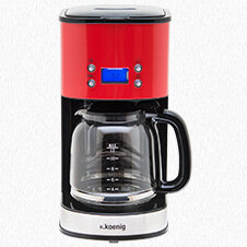 CAFETIERE PROGRAMMABLE 12-20 TASSES Rouge MG30