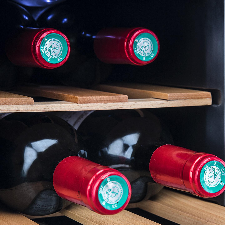 nos produits maison cave vin 12 bouteilles dual zone koenig fr. Black Bedroom Furniture Sets. Home Design Ideas